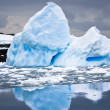 Antarctic iceberg — Stock Photo