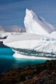 Iceberg antártico — Foto de Stock