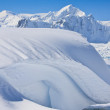 Beautiful snow-capped mountains — Stock Photo #4919974