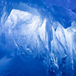 Blue ice cave — Stock Photo #4919988