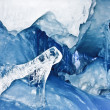 Blue Ice cave — Stock Photo #4919989