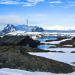 Winter landscape in Antarctica — Stock Photo