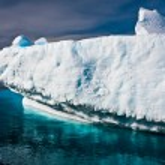 南极冰川 — 图库照片