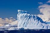 Antarctic glacier — Stock Photo