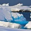 Stockfoto: Huge iceberg in Antarctica