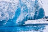Lodowiec antarktyczny — Zdjęcie stockowe