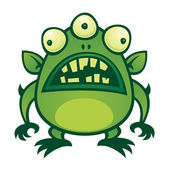 Alien Monster — Stock Vector