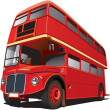 Stock Vector: London Bus