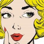 美丽的女人的脸 — 图库照片