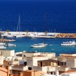 Views from Ibiza, Mediterranean island in Spain - Stock Photo