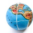 Royalty-Free Stock Photo: Globe isolated