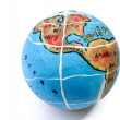 Stock Photo: Globe isolated