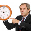 Clock man — Stock Photo #4856136