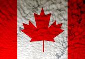 Bandeira do canadá — Foto Stock