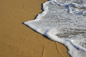 海滩波 — 图库照片