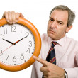 Clock man - Foto de Stock