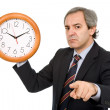 Clock man - Stockfoto
