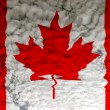Stock Photo: Flag canada