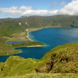 Stock Photo: Azores lake
