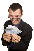 Money man — Stock Photo