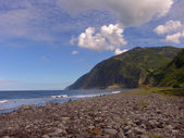 Azores beach — Stock Photo