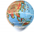 Globe on white — Stock Photo
