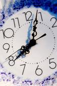 Zegar detal — Zdjęcie stockowe