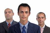 Three men — Stock Photo