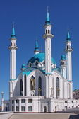 Building of mosque in Kremlin in city Kasan — Stock Photo
