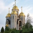 Temple of All saints, burial mound, city Volgograd — Stock Photo