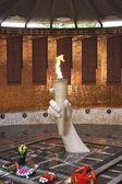 Eternal fire, burial mound, city Volgograd — Stock fotografie
