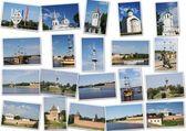 Collection of photos, the city of Veliky Novgorod — Stock Photo