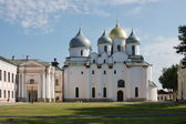 Beautiful cathedral city of Veliky Novgorod — Stock Photo