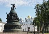 """Monument """"Millennium of Russia"""" — Stockfoto"""