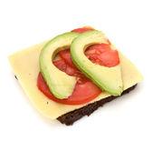 Sağlıklı sandviç — Stok fotoğraf