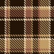 Seamless tartan brown abstract pattern — Stockvektor
