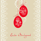 Easter card — Vettoriale Stock