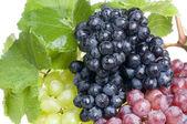 Grape food over white — Stock Photo