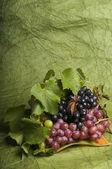 многоцветная винограда еда — Стоковое фото