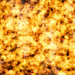 Burning fire flame background — Stock Photo