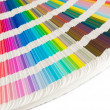 Color guide to match colors for printing — Stock Photo #5234701