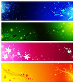 Banner collection — Stock Vector