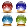 Royalty-Free Stock Vector Image: Magic globe
