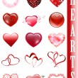 Heart collection — Stock Vector