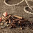 Spice mix - Stockfoto