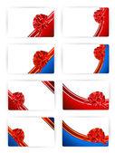 Card templates — Stock Photo
