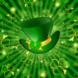 St.Patrick holiday - Imagens vectoriais em stock