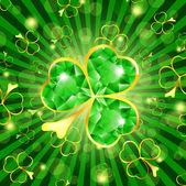 St.Patrick holiday — Stock Vector
