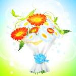 Flower bouquet — Stock Vector