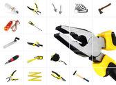 Tools over white — Stock Photo
